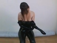 Japanese Latex Catsuit 15