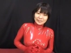 Japanese Latex Catsuit 52