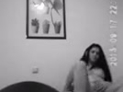 25y Greek Dilettante fuck fine in booty - filmed with Spycam