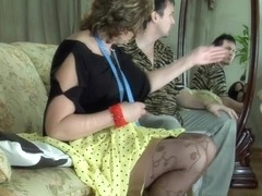 MaturesAndPantyhose Video: Emilia B and Rolf