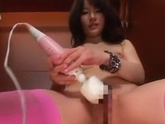 Fabulous Japanese model Rui Saotome in Crazy Solo Female, Stockings JAV movie
