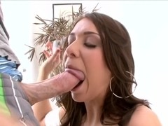 Beverly Hills Loves Dick In Her Ass & Cum...