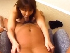 Hottest Japanese chick in Fabulous JAV uncensored Facial scene