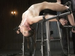Casey Calvert & The Pope in Hot Seat - DeviceBondage