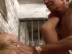 Blonde Hollywood Whore Is Fucked In Jail