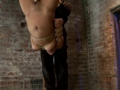 Pussy flogging, caning, nipple torture, face fucking, finger fucking & 2 massive squirting orgasms!
