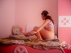 Bulgarian Legal Age Teenager Pamela Masturbate