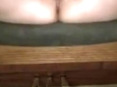 Wife squirting with her old rabbit vibe.