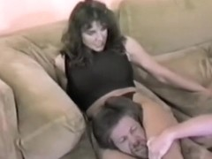 Treena Collins - Peeping Tom (Mixed Wrestling Smother)