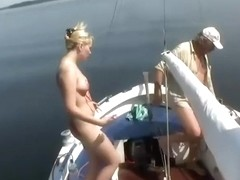 Fun while sailing