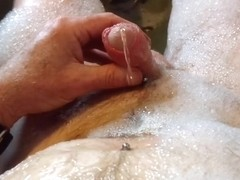 Slow motion golden shower 1