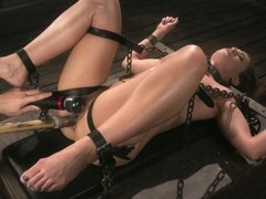 Cheyenne Jewel,The Pope in Cheyenne Jewel Punished with Unwilling Orgasms and Mean Metal Bondage! .