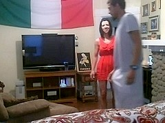 white milf cheats with a bbc on hidden webcam