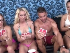 Friendly Card Game Turns Sex Party