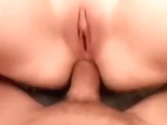 Slutty blonde with perky boobs Ivy takes a long dick up her ass in POV
