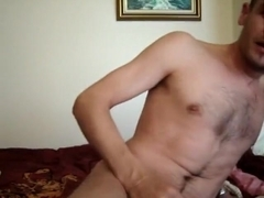 Fabulous amateur gay scene with Masturbation, Webcam scenes