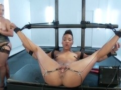 Nikki Darling Spread Wide and Electro Fucked